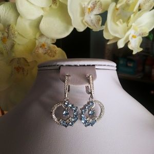 Jewelry - Beautiful silver filled dangly earrings